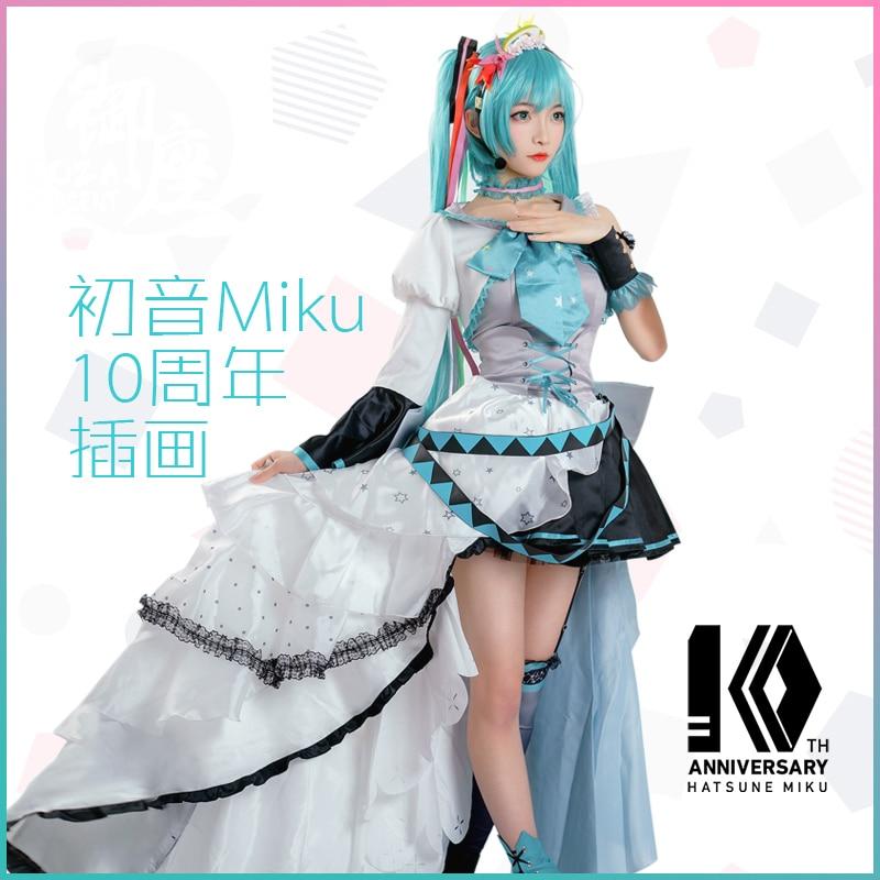 anime-vocaloid-10th-anniversary-font-b-hatsune-b-font-miku-lovely-lolita-dress-cosplay-costume-for-women-free-shipping