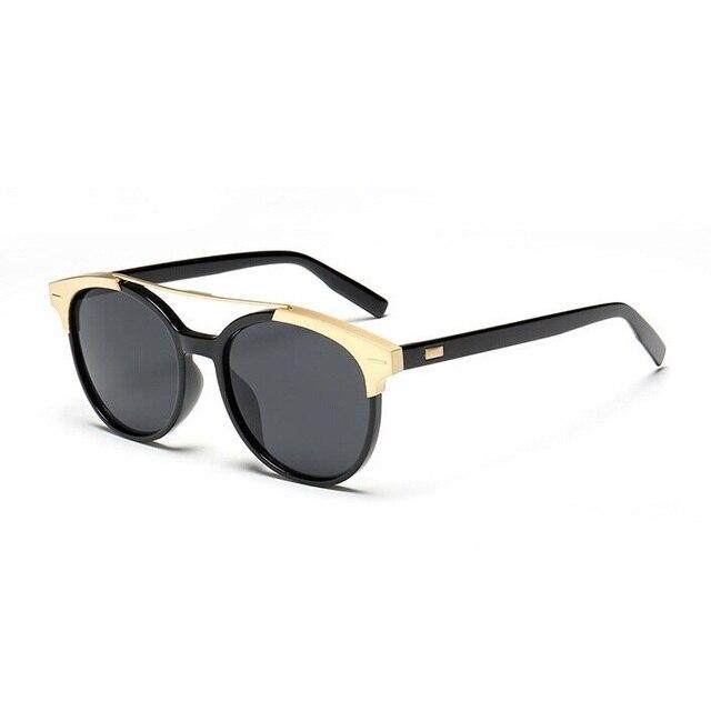 fc9f7ebcfebf 2017 Newest Brand Designer Cat Eye Mirror Sunglasses Women men Stylish Lady  Flat Plane New UV400 Fashion Sun Glasses Hot