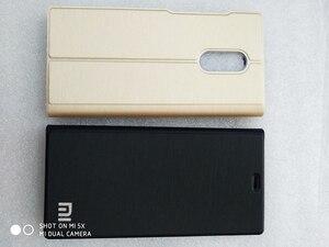 Image 2 - Xiaomi redmi 5 plus case cover redmi 5 flip cover PU leather back case redmi5 global redmi 5Plus Kickstand original OEM Case