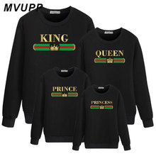 family maching outfits look mom and daughter dress father son Fall sweatshirt baby girl clothes winter Cute Women Hoodies Autumn