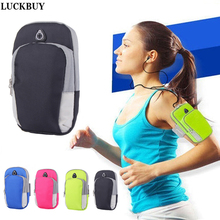 LUCKBUY phone Sport Running Armband Holder Arm Band Bag Case for iphone7 6S 5S 6s Plus 7Plus for Samsung Sony HTC Xiaomi Huawei стоимость