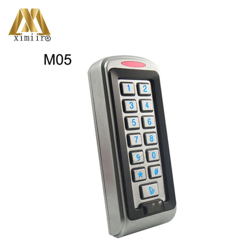 Standalone access control board smart card and keypad