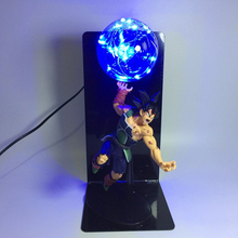 Whole Set Dragon Ball Z Burdock Led Night Light Kamehameha Anime DBZ Son Goku Lamp Lampara Kids Toy 110V 220V 127V