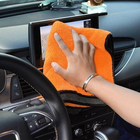 super absorvente toalha de lavagem de carro de limpeza macia toalha de lavagem de carro