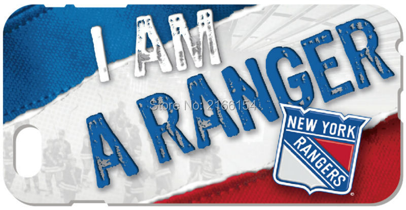 New York Rangers phone Cover For iphone 4 4S 5 5S SE 5C 6 6S 7 Plus For iPod Touch 4 5 6 Back Skin Plastic Hard Cell Mobile Case