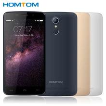 "D'origine Homtom HT17 Cellulaire Téléphone MT6737 Quad-Core 1 GB RAM 8 GB ROM 5.5 ""écran 13MP Caméra Android 6.0 OS D'empreintes Digitales Smartphone"