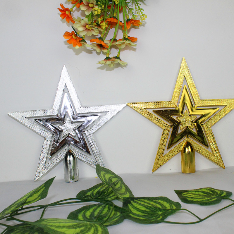 big thick merry christmas star decoration supplies christmas toys holiday ornament decorations items 2016 new year baubles in pendant drop ornaments from - Christmas Star Decorations