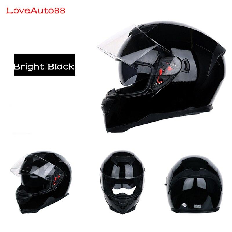 Image 3 - Full Face Professional Motorcycle Helmet Safe helmets Racing helmet Modular Dual Lens Motorcycle Helmet for Women/Men-in Helmets from Automobiles & Motorcycles