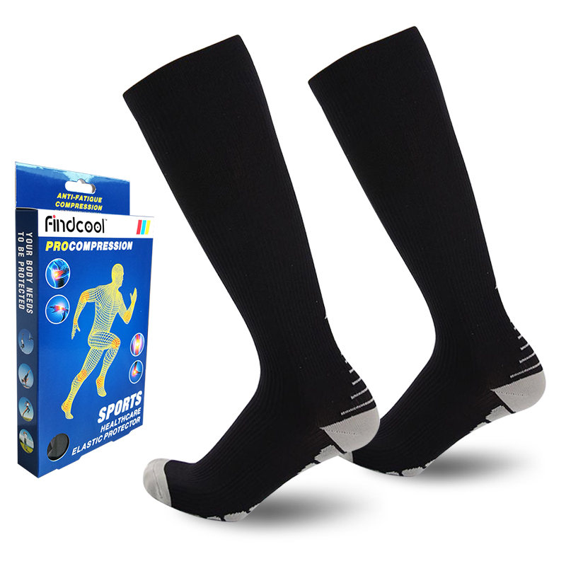 Man Compression Socks Comfortable Relief Soft Miracle Leg Support Stretch Breathable Socks 8811E
