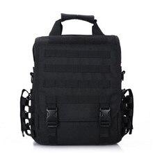 Sistema Molle Militar Mochila Táctica 2016 Nuevo Diseño de los hombres al aire libre senderismo bolsa de Ordenador Portátil Tablet PC Shouler Bolsos de Nylon 1000D