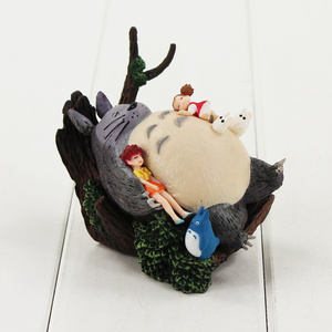Image 5 - 9 13CM Totoro Spirited Away The Castle in the Sky MIYAZAKI HAYAO Howls Moving Castle Kikis Delivery Service figure