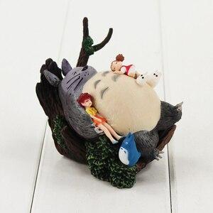 Image 5 - 9 13CM Totoro a fait vibrer le château dans le ciel MIYAZAKI HAYAO Howl le château en mouvement la figurine du Service de livraison de Kiki