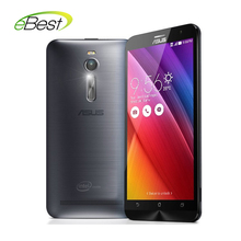 "original  Asus ZenFone 2 ZE551ML mobile phone 4G FDD LTE  5.0 intel Z3560 Quad Core 1.8GHz 5.5"" NFC smart cellphones"