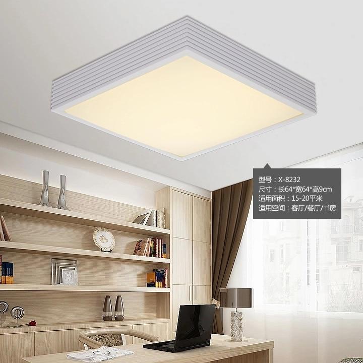 Online Shop Moderne Minimalistische Wohnzimmer Lampe Schlafzimmer Bro Fhrte Deckenleuchte Dimmer Beleuchtung Und Kreative Persnlichkeit Studie