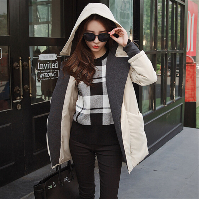The New Women's Cotton Padded Jacket Winter Fashion Nice Girls Padded Thicker Jackets Long Section Coat Plus Size Parkas C1216