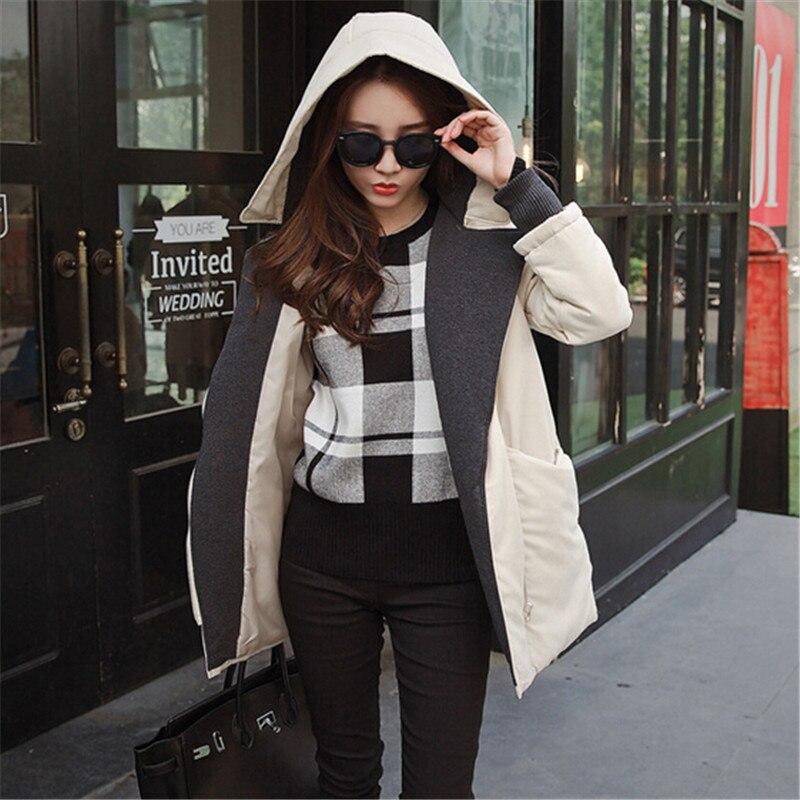 The New font b Women s b font Cotton Padded Jacket Winter Fashion Nice Girls Padded