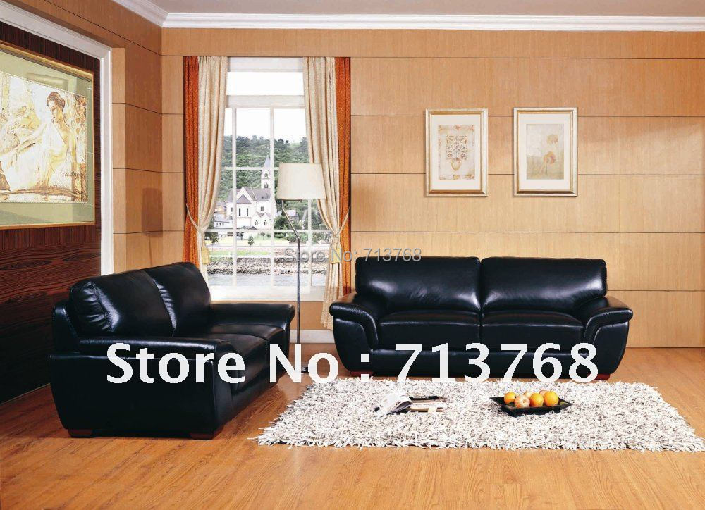 Modern Furniture Living Room Leather Fabric Sofa