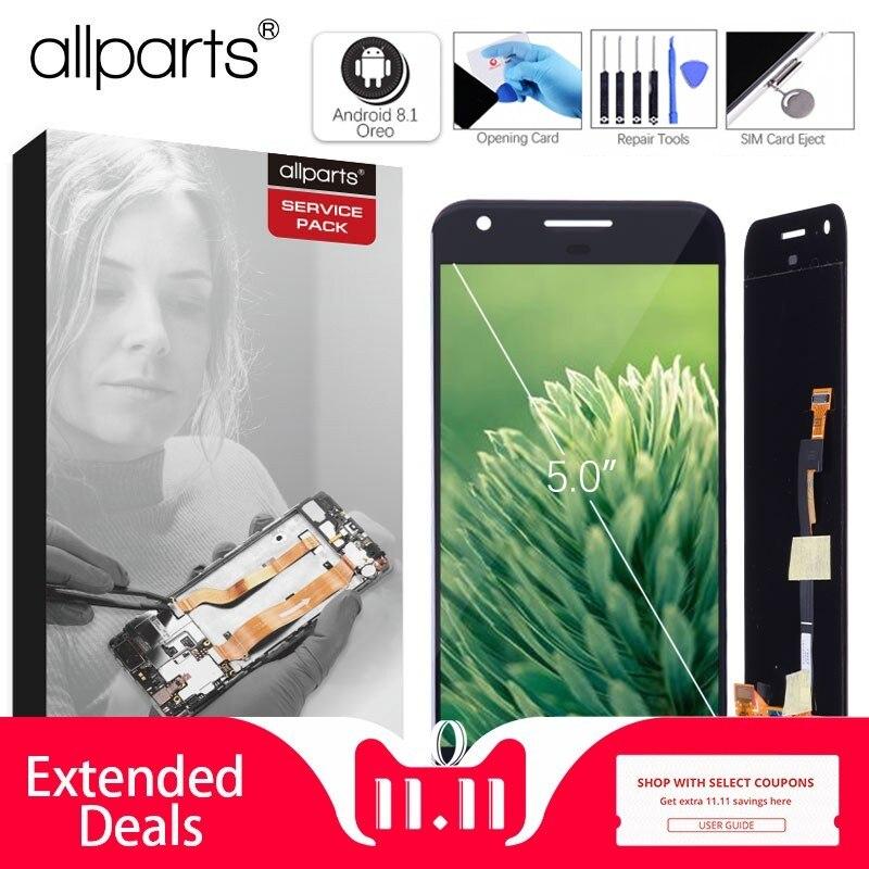 No Dead Pixel Display Originale Per HTC Google Pixel LCD Nexus S1 Display Touch Digitizer Sostituzione Dello Schermo Nero Bianco