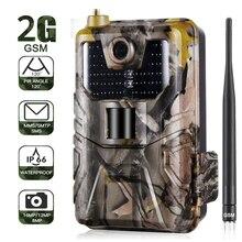 20MP 1080P камера для слежения за дикой природой, камера для фото, ловушки ночного видения, 2G SMS MMS SMTP, электронная почта, сотовая камера для охоты, камера наблюдения s HC900M
