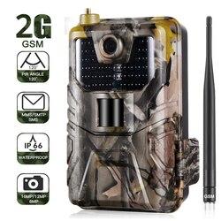 20MP 1080 P Wildlife Trail Kamera Foto Fallen Nachtsicht 2G SMS MMS SMTP E-mail Cellular Jagd Kameras HC900M überwachung
