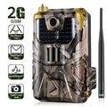 20MP 1080P камера для дикой природы  фото ловушки  ночное видение  2G SMS MMS SMTP электронная почта  сотовая камера для охоты  HC900M камера наблюдения