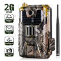 20MP 1080P камера для дикой природы, фото ловушки, ночное видение, 2G SMS MMS SMTP электронная почта, сотовая камера для охоты, HC900M камера наблюдения