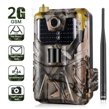 20MP 1080P Wildlife Trail Camera Photo Traps Night Vision  2G SMS MMS SMTP Email  Cellular Hunting Cameras HC900M Surveillance