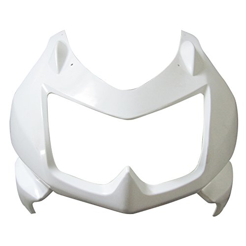 Motorcycle Unpainted Front Upper Cowl Nose Fairing for KAWASAKI NINJA 250 2008 2009 2010 2011 2012 unpainted front nose top fairing for triumph daytona 675 2009 2012 10 11 upper cowl