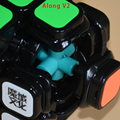 Moyu Aolong GT/Junto V2/Mini Aolong Fidget Cubo Cubo Mágico Puzzle de Juguetes Educativos De Plástico Envío de La Gota