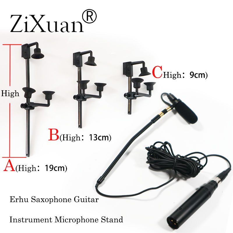 Free Shipping Pro Saxophone Stage Performance Instrument Clip Capacitor Microphone Headset FOR AKG Shu re
