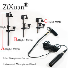 Free Shipping Pro Saxophone Stage Performance Instrument Clip Capacitor Microphone Headset  FOR AKG Shu're