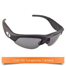 Mini cámara de 720 P cámara oculta Ligero micro camara espía gafas de sol de protección UV400