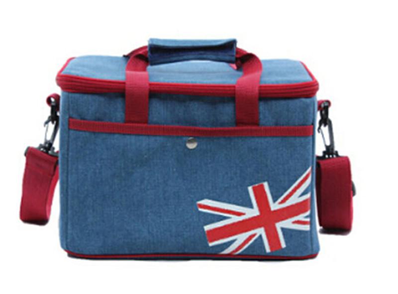 Picnic bag blue 20177