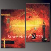 Free shipping stretched fine art wall decorative painting