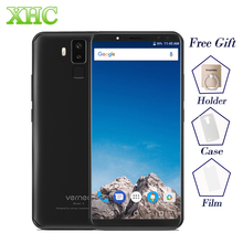 "4G LTE VERNEE X 6.0"" 6200mAh 18:9 FHD Smartphones Face ID 4GB RAM 64GB ROM MTK6763 Octa Core 2160 x 1080 Dual SIM Mobile Phones"