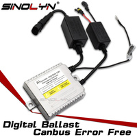 Sinolyn New 9 16V AC 35W Premium Canbus Error Free Digital Slim Ballast Replacement Reactor Block ignition For Xenon HID Lamps