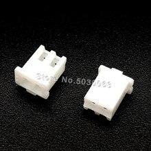 200 pçs/lote XH2.54 2Y 2P 2pin fio Conector XH 2.54 milímetros espaçamento Passo Terminal Habitação case Plástico Plug socket PCB Adaptador para Carro