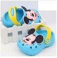 Envío gratis 0-3 años bebé de cuero sandalias de los niños sandalias del bebé de la playa muchacha de los muchachos de la sandalia calzado