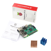 In Stock Raspberry Pi 3 Model B With Built In Wireless And Bluetooth Connectivity Heat Sink