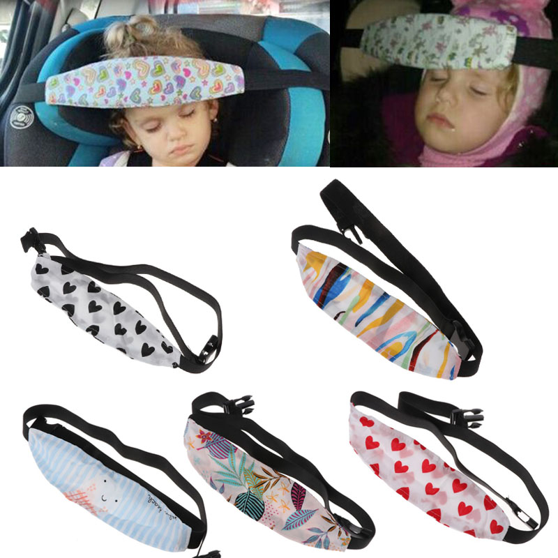 Summer Thin Fixing Band Baby Kid Head Support Holder Sleeping Belt Car Seat Sleep Nap Holder Belt Baby Stroller Safety Seat Hold