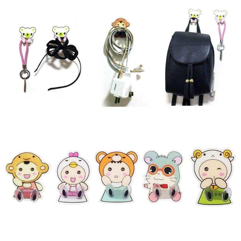 Family Cartoon Plug Holder Electrical Wire Organizer Storage Rack ...