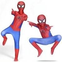 Adult Kids Cosplay Spiderman Suit Spidey Costume Games Superhero Spider man Clothing Bodysuit Children Fancy 3D Printed