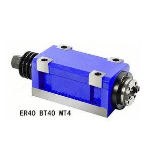 Image 3 - Шпиндель с ЧПУ bt40 ER40 MT4 для токарного станка, фрезерного гравировального станка, Китай, низкая цена, оптовая продажа, тяжелая резка