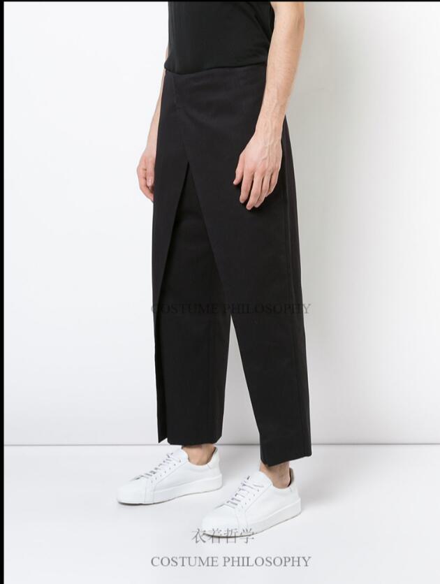 Cantante Es Diseño Estilista Trajes Puntos Dividir Nuevo Doble Plus Negro Tamaño Nueve Capa Pantalones 2019 Los De Empalmado 44 Hombres 27 4UqwX