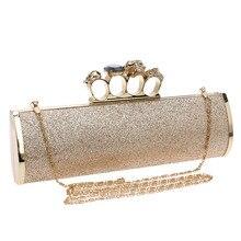 Mode Pailletten Abendtasche Mit einer Diamant Tasche frauen Strass Bankett Handtasche Tag Kupplung Weiblichen Kette Umhängetaschen T578