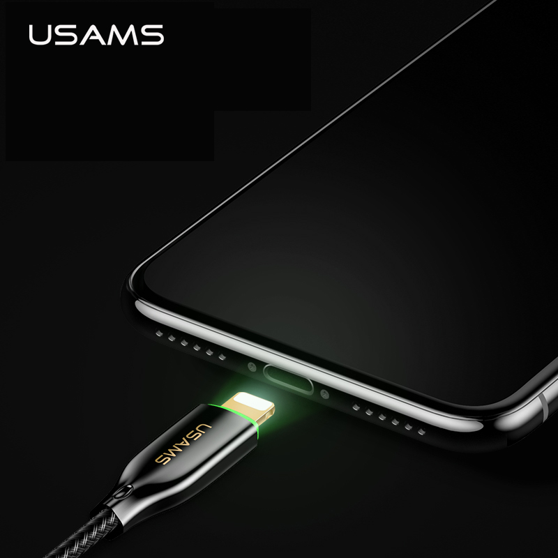Usb Cabel for Lightning cable,USAMS 1.2m