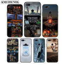For Xiaomi 6 8 A1 A2 Redmi Note S2 4 4X 5 5A 6 6A Pro Lite Black Silicon Phone Case Aircraft Airplane fly travel  Style for xiaomi 6 8 a1 a2 redmi note s2 4 4x 5 5a 6 6a pro lite black silicon phone case eiffel tower london city style