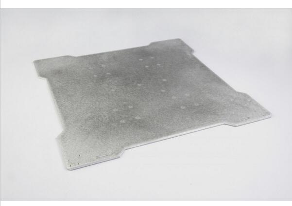 TAZ 3D printer parts Reprap 300 x 300mm bed plate mount aluminum bed mount plate 3mm thickness