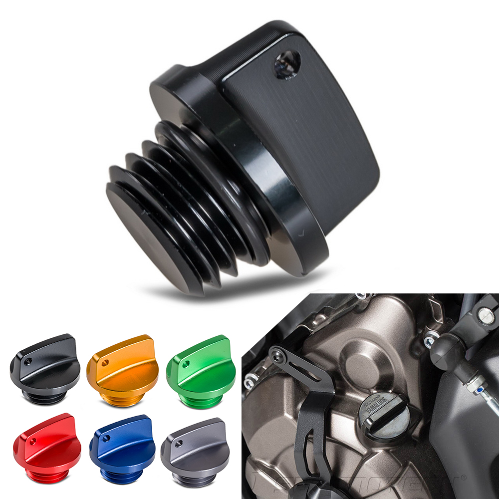 M20x2.5 CNC Billet Olie Filler Cap Plug Voor Honda Yamaha Kawasaki Ducati Triumph Suzuki CB CBR CRF YZ WR MT09 Z800 Z1000 ER6N