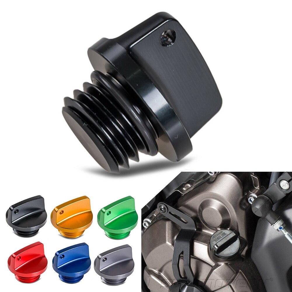 M20x2.5 пробка для масляного наполнителя с ЧПУ, пробка для Honda, Yamaha, Kawasaki, Ducati, Triumph, Suzuki CB, CBR, CRF, YZ, WR, MT09, Z800, Z1000, ER6N